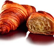 sliced original butter croissant